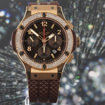 Hublot Big Bang Cappuccino Chronograph 44mm Diamond Bezel