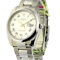 Rolex Unworn 115200 Mens Date with Oyster Bracelet - Domed...