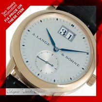 A. Lange & Söhne Saxonia Big Date Gelbgold 102.002