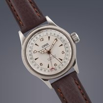 Oris 'Big Crown' Pointer Date stainless steel automati...