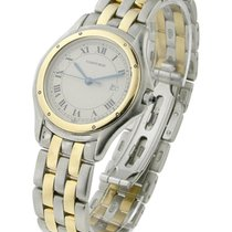 Cartier 187904 Cougar in Steel with Yellow Gold Bezel - on...