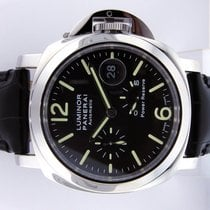 Panerai Unworn  Pam 90 Steel 44 Mm Luminor Power Reserve Pam...
