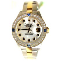 Rolex Datejust Lady's Model 79163 Steel and Gold Oyster...