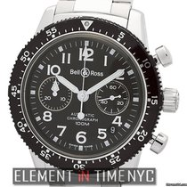 Bell & Ross Classic Pilot Chronograph Stainless Steel 41mm