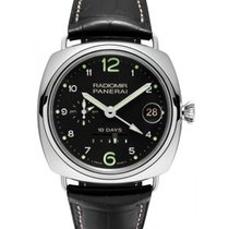Panerai PAM 496 Radiomir 45mm White Gold 2016