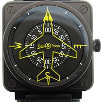 Bell & Ross Aviation BR01 Heading Automatic Watch BR01-92-...
