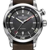Maurice Lacroix Pontos S Diver, Date, New Design Brown...