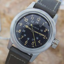 Bulova 1960 Korean War Military Mil-w-3818a Stainless Steel...