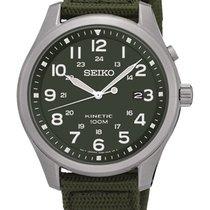 Seiko KINETIC MILITARY GREEN SKA725P1