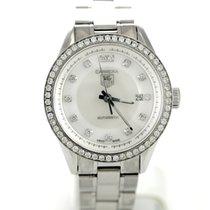 TAG Heuer Carrera Steel & Diamonds Automatic Date Ladies...