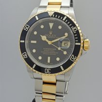 Rolex Oyster Perpetual Submariner Date 2001 -Stahl/Gold 16613 BK