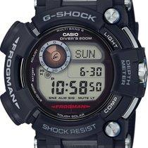 Casio G-shock Frogman Solar Black Rubber Strap Gwf-d1000-1er