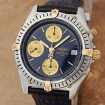 Breitling Swiss Chronomat B13047 40mm Men 18k And Stainless St...