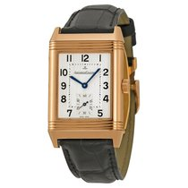 Jaeger-LeCoultre Reverso Grande Taille Silver Dial Black...