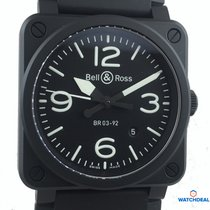 Bell & Ross BR 03-92 Ceramic Black matte NEU mit Box+Papieren