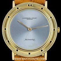 Audemars Piguet 18k Yellow Gold Silver Dial Dress Gents...
