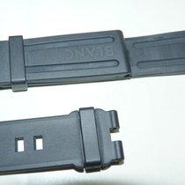 Montblanc ORIG MONTBLANC SPORT BLACK RUBBER WATCH STRAP 22mm