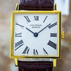 Universal Genève Gold Plated Manual Ladies Dress Watch Pb21