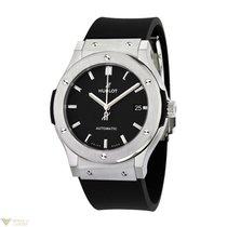 Hublot Classic Fusion Titanium Automatic Rubber Men's Watch