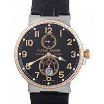 Ulysse Nardin Maxi Marine Chronometer Two Tone with Diamond Bezel