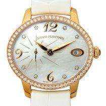 Girard Perregaux Cats Eye 18 K Rose Gold With Diamonds White...