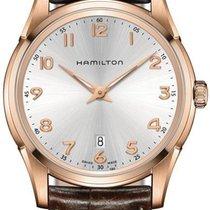 Hamilton Jazzmaster Thinline H38541513 Herrenarmbanduhr flach...