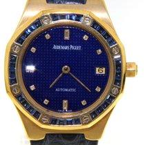 Audemars Piguet - Royal Oak set with sappires - wristwatch -...