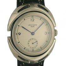 Zeno-Watch Basel Giant Maximus Handaufzug Limitiert 46mm Neu