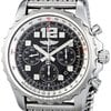 Breitling Chronospace Auto Black Stainless Steel Automatic...