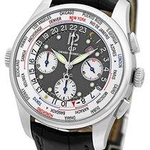 "Girard Perregaux ""World Time Chronograph"" Strapwatch."