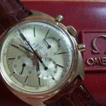 Omega seamaster chrono 18 kt gold yellow calibro 321 rare