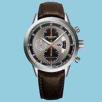 Raymond Weil Freelancer Chronograph Titan Lederband braun -NEU-