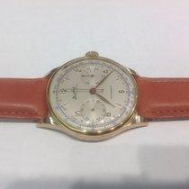 Breitling Cadette chronograph 18k pink gold