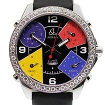 Jacob & Co. S5993 Five Time Zone Diamond Men's Watch