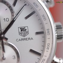 TAG Heuer Men's Carrera Calibre 1887 41mm Steel on Steel ...