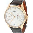 IWC Portuguese Rose Gold 7 Day Power Reserve 42MM Watch IW500113