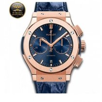 Hublot - CLASSIC FUSION BLUE CHRONOGRAPH KING GOLD
