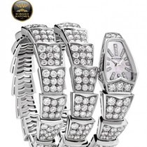 Bulgari - SERPENTI quartz 26mm white gold and diamonds