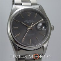 Rolex Oyster Perpetual Date 15200 Gray Dial + saphire glass