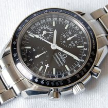 Omega Speedmaster Chronograph Triple Date Automatic - Box&...