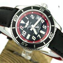 Breitling SUPEROCEAN II-42-BLACK/RED-NEW