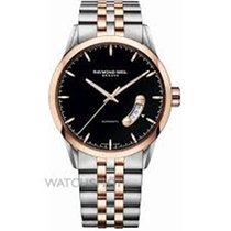 Raymond Weil Freelancer Black Dial Two-tone Men's Watch