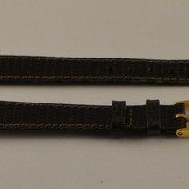 Movado Leder Armband Leather Bracelet 14mm Mit Dornschliesse