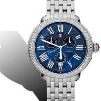 Michele Serein Diamond Blue MOP Chrono watch mww21a000026