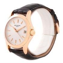 Patek Philippe Calatrava 18k Rose Gold Watch 5107r Box Papers