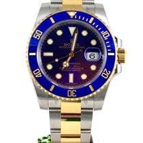Rolex Submariner bi color steel gold bue dial bezel 116613lb