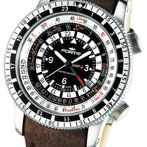 Fortis B-47 Calculator GMT 3 Time Zones Limited Edition...