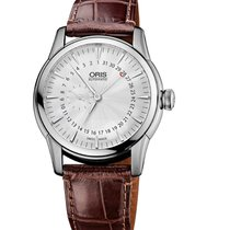 Oris Artelier Small Second Pointer Date 74476654051