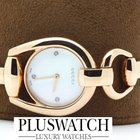 Gucci Horsebit Diamond White Dial YA139508 T