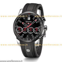 Eberhard & Co. Chrono 4 Grand Taille Color Nero Bracciale...